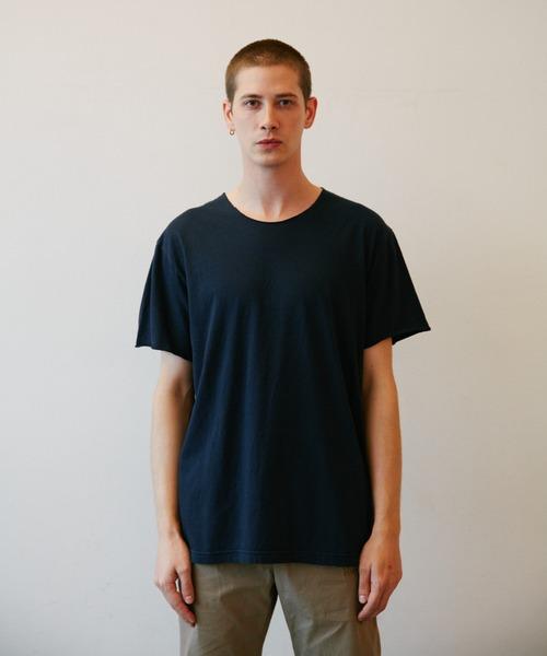 ROTTWEILER(ロットワイラー)の「Cutoff Tee(Tシャツ/カットソー)」|ネイビー
