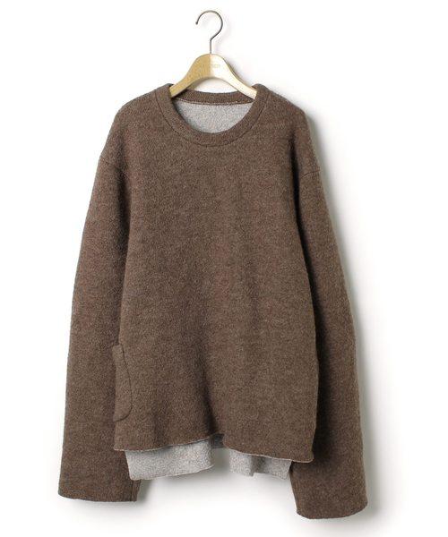 SUNSEA(サンシー)の古着「長袖プルオーバー(Tシャツ/カットソー)」