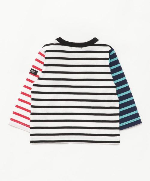 SLAP SLIP/天竺ボーダー長袖Tシャツ