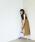 EMMEL REFINES(エメルリファインズ)の「【EMMEL REFINES】〔ハンドウォッシャブル〕SMF H/W LI Wタックマキシスカート �A(スカート)」|オリーブ