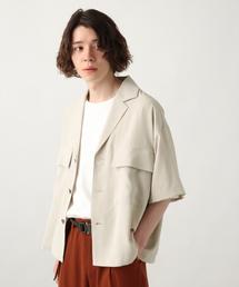 HARE(ハレ)のBIGポケットジャケットシャツ(HARE)(シャツ/ブラウス)