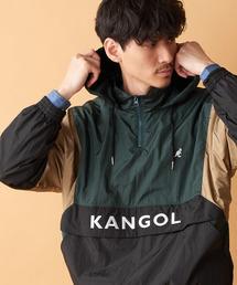 KANGOL(カンゴール)の【WEB限定】Discoat×KANGOL 別注切替ナイロンアノラック(ナイロンジャケット)