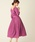 natural couture(ナチュラルクチュール)の「NEWカシュクールプリーツ2WAYワンピース(ワンピース)」|パープル