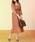 natural couture(ナチュラルクチュール)の「NEWカシュクールプリーツ2WAYワンピース(ワンピース)」|詳細画像