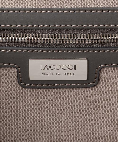 IACUCCI(イアクッチ)の「スエードレザーキャンバストートバッグL【SORBETTO-4092/SUEDE】(トートバッグ)」|詳細画像