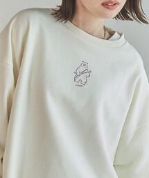 coen × 金安 亮 イラスト裏毛スウェット