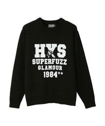 SUPERFUZZ 1984 プルオーバーブラック
