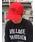 MAISON HONORE(メゾンオノレ)の「baseball cap MHP(キャップ)」|レッド
