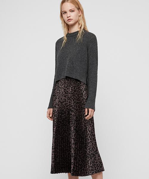 気質アップ LEOWA DRESS(ワンピース)|ALLSAINTS(オールセインツ)のファッション通販, 山崎町:89b64c8e --- blog.buypower.ng