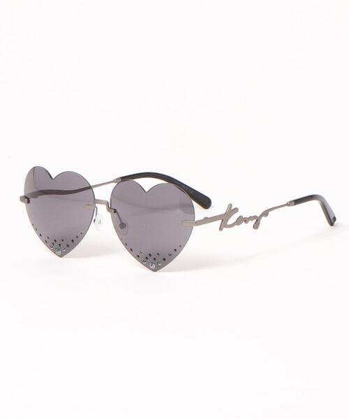 Heart Frameless Sunglasses U