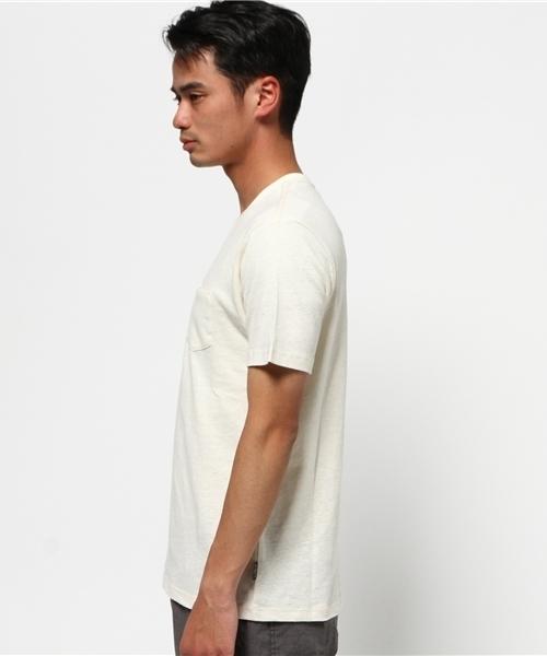 V-NECK PK TEE / ブイネックポケットティーシャツ