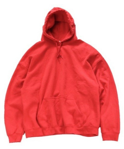 TOWNCRAFT(タウンクラフト)の「【WEB限定】TOWNCRAFT/タウンクラフト 80'S PULL HOODY(パーカー)」|レッド