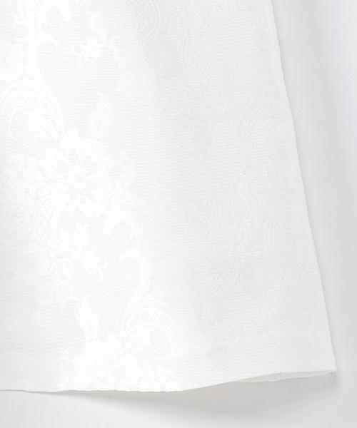 リボン付 花柄 ノースリーブ ワンピース (110cm~130cm)