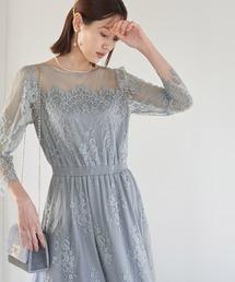 ROPE' PICNIC(ロペピクニック)の【店舗限定】【Mon E'toile】レースDRESS(ドレス)