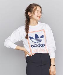 <adidas Originals(アディダス)>ロゴロングスリーブTシャツ