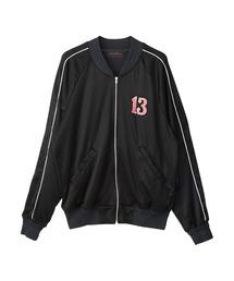 BAD GIRL刺繍 ジャケットブラック