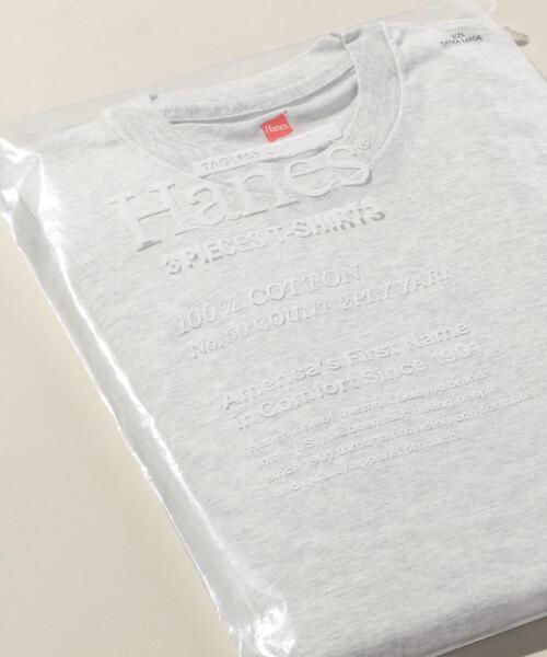 【別注】 <Hanes(ヘインズ)> 3PACK T-SHIRTS/パックTシャツ