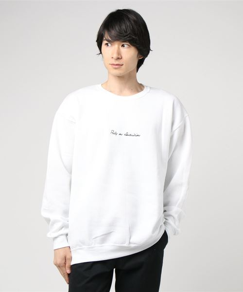 「INASTUDIOS SELECT」刺繍スウェットシャツ