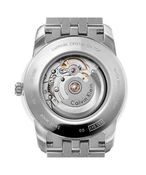 [カルバンクライン] CALVIN KLEIN 腕時計 Infinite Too(インフィニート トゥー) 3針 シルバー×ブルー