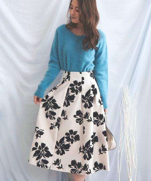 【在庫有】 ビックフラワーフロッキーSK(スカート)|Noela(ノエラ)のファッション通販, チャイルドヴィーイクルズ:95962eef --- skoda-tmn.ru