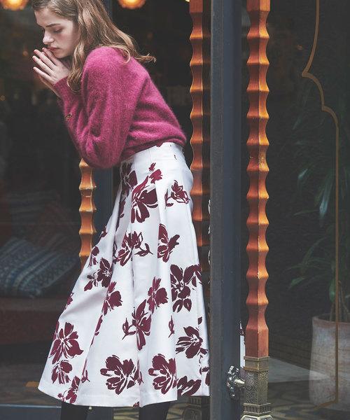 新しいブランド ビックフラワーフロッキーSK(スカート)|Noela(ノエラ)のファッション通販, ギャラリーレア:afdf0fb5 --- skoda-tmn.ru