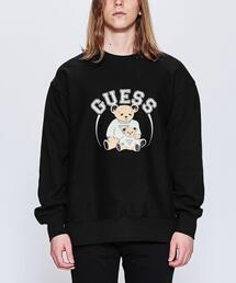 <GUESS GREEN LABEL> BEAR SWT CN/スウェット