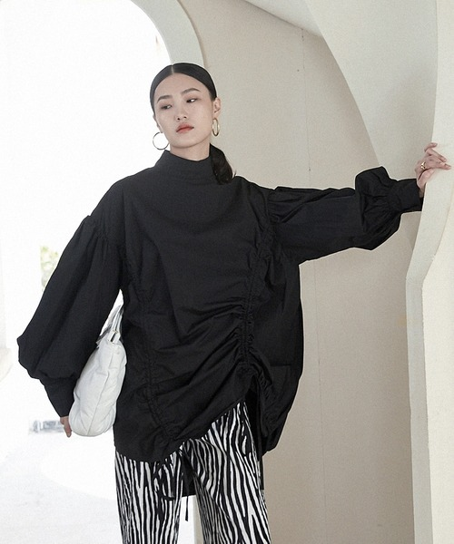 【chuclla】Gather volume sleeve blouse sb-5 chw1230