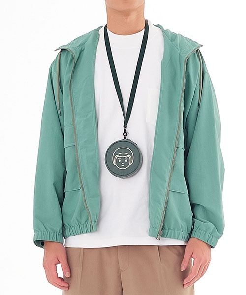 COP 撥水ナイロンフード付きジャケット