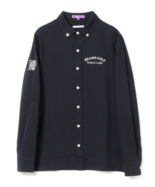 超可爱 BEAMS GOLF PURPLE LABEL / ギンガムチェック ポロシャツ, ときいろインテリア 1a8a9de8