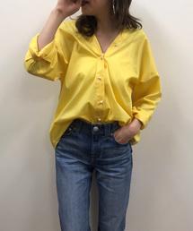 Loungedress(ラウンジドレス)のパール2WAYシャツ(シャツ/ブラウス)