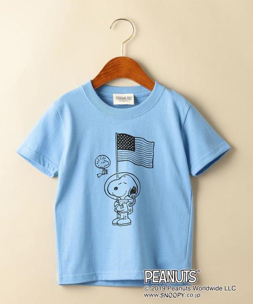 〔別注〕PEANUTS(ピーナッツ)ASTRO FLAG Tシャツ