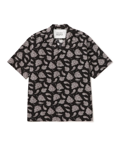 【WEB限定】UNITED ARROWS & SONS × AUTO MOAI S/SL SHIRT†