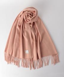 <6(ROKU)>CASHMERE WOOL SOLID STOLE/ストール