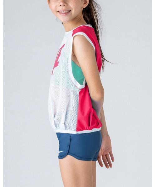 NIKE(ナイキ)の「NIKE/ナイキ/Swimwear/ルーズトップスセパレーツ水着(水着)」|ピンク