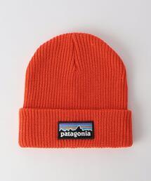 <patagonia(パタゴニア)>38 キッズ ロゴ ビーニー / 帽子