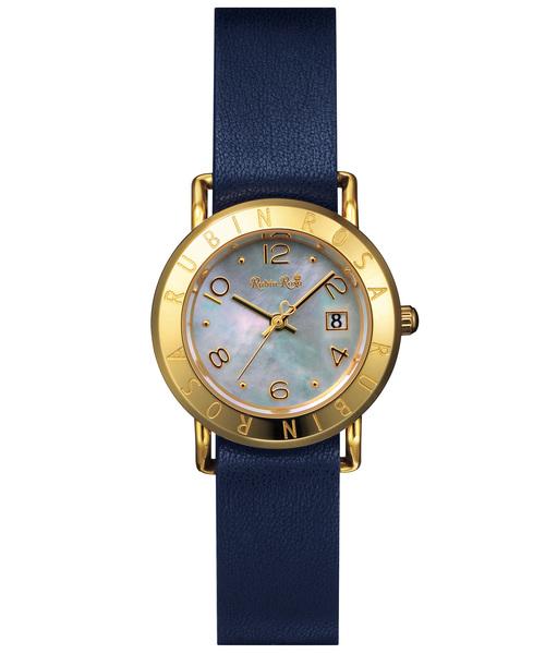 RubinRosa(ルビンローザ)の「【Rubin Rosa】 ルビンローザ R601 レディース 腕時計(腕時計)」 ネイビー