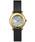 RubinRosa(ルビンローザ)の「【Rubin Rosa】 ルビンローザ R601 レディース 腕時計(腕時計)」 ブラック×ゴールド