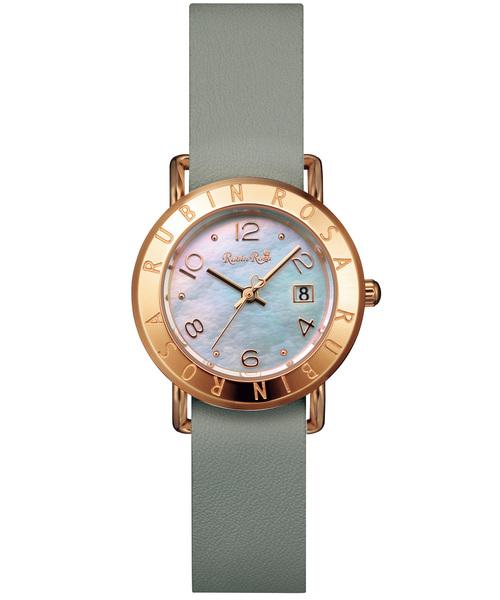 RubinRosa(ルビンローザ)の「【Rubin Rosa】 ルビンローザ R601 レディース 腕時計(腕時計)」|ライトグリーン