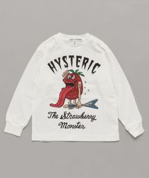 STRAWBERRY MONSTER pt リブ付Tシャツ【XS/S/M】