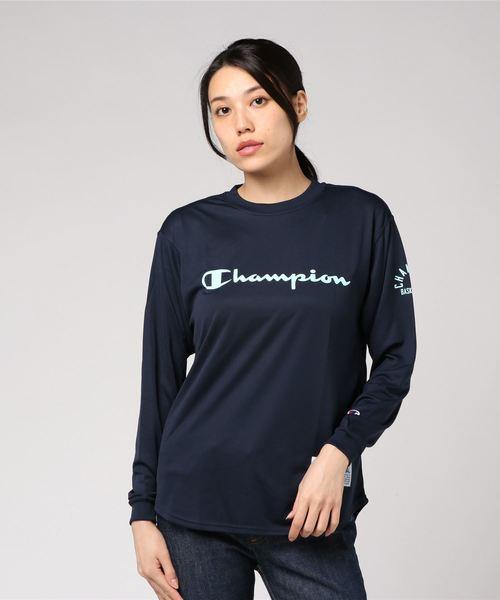 【OUTLET STORE PRICE】【Champion/チャンピオン】DRYSAVER ロングスリーブTシャツ CAGERS