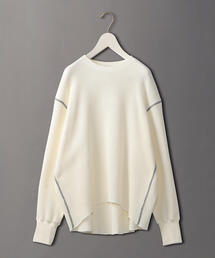 <6(ROKU)>THERMAL COLOR STITCH LONG SLEEVE/サーマル