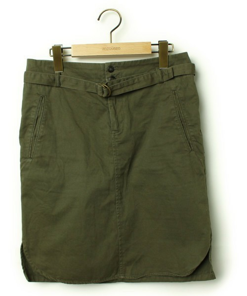 IENA(イエナ)の古着「スカート(スカート)」|グリーン