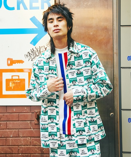 買得 SEE HYSTERIC NO EVIL総柄 EVIL総柄 カバーオールシャツジャケット(カバーオール)|HYSTERIC GLAMOUR(ヒステリックグラマー)のファッション通販, ルネッサンスインテリア:68c33b9b --- blog.buypower.ng