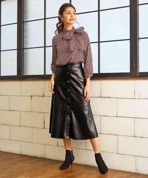 特売 【セール】フェイクレザーAラインスカート(スカート)|NARACAMICIE(ナラカミーチェ)のファッション通販, 下山珈琲:8d191927 --- steuergraefe.de