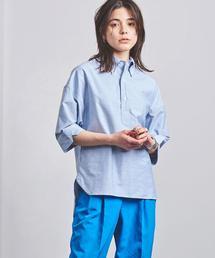 <MADISON BLUE(マディソンブルー)>ボタンダウン ショートスリーブ シャツ ■■■