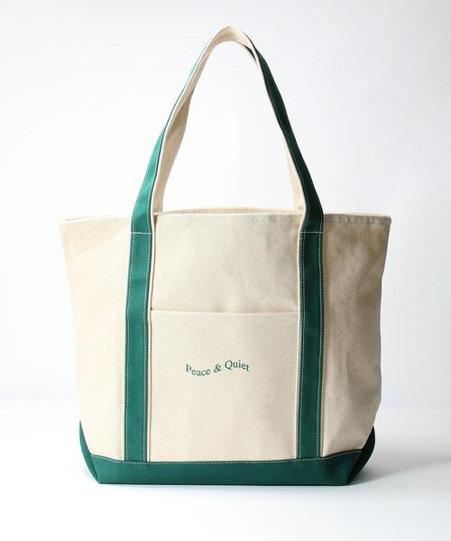 <PEACE&QUIET (ピース&クワイエット)> CVS TOTE/バッグ