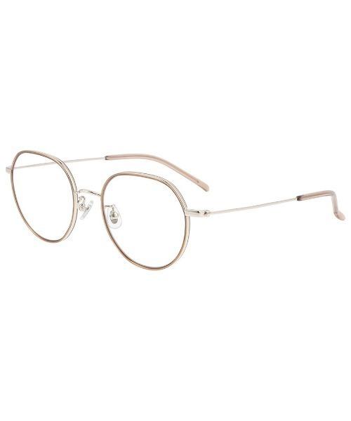 ボストン型 クリアレンズサングラス|Zoff UV CLEAR SUNGLASSES (UV100%カット)