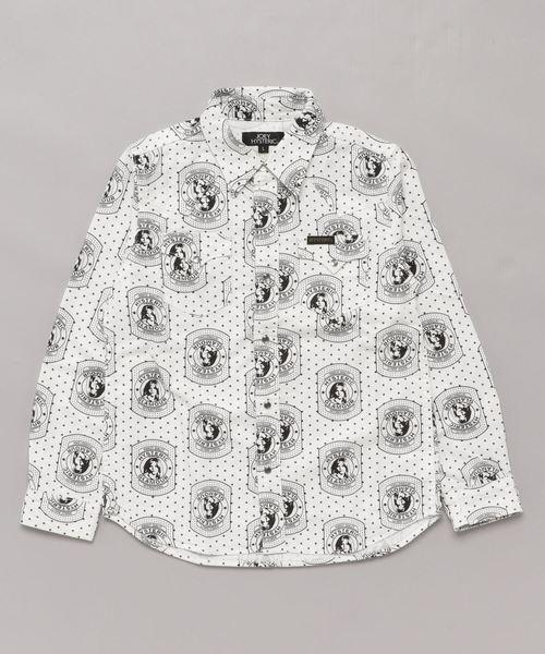 HYSTERIC CRAFT総柄 ウェスタンシャツ【L】