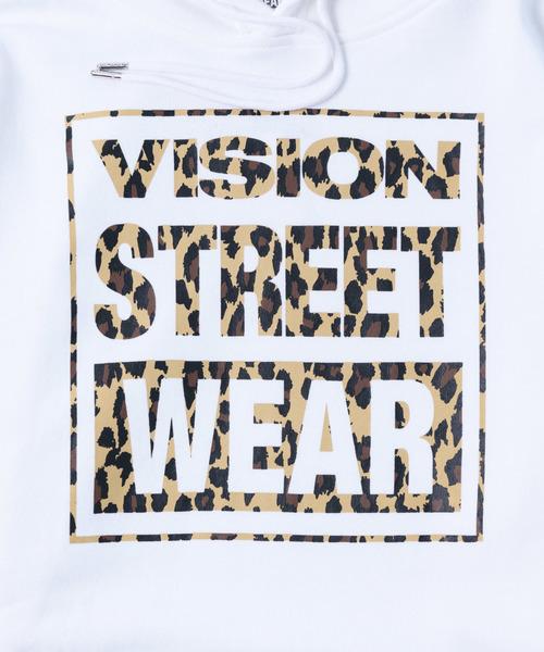 VISION STREETマグロゴパーカー