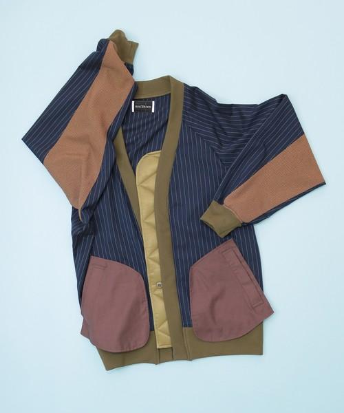 elephant TRIBAL fabrics(エレファントトライバルファブリックス)の「elephant TRIBAL fabrics HYBRID LIGHT BLOUSON(ブルゾン)」|ネイビー